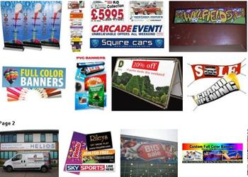 1 3x1m Banner Full PVC Colour